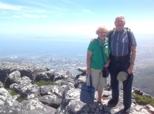 Meryl and Noel in South Africa