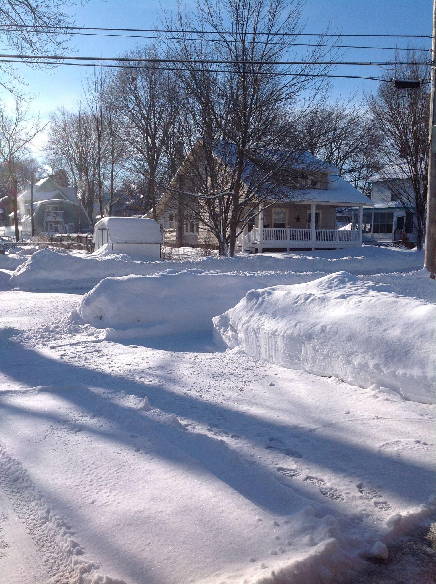 Snow in Glens Falls