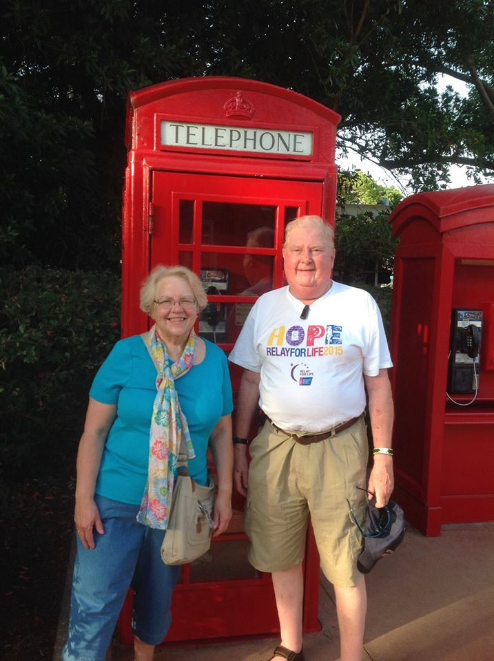 Noel and Meryl in Orlando, FL
